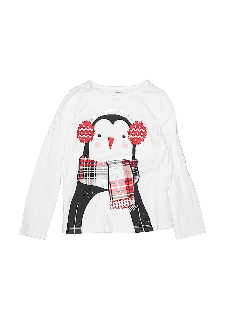 Carter's Girls Long Sleeve T-Shirt Size 6
