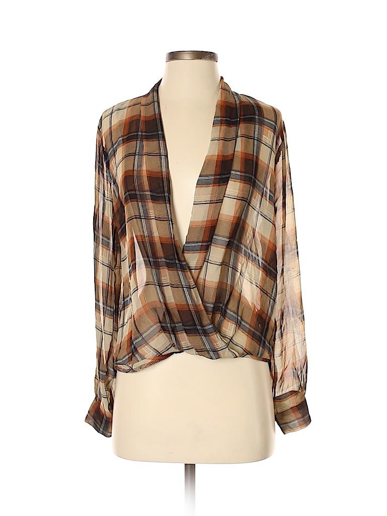 Sophie Rue Women Long Sleeve Blouse Size S