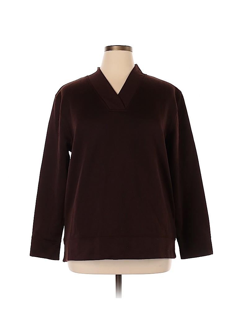Bobbie Brooks Women Pullover Sweater Size 18 (Plus)