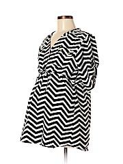 Rumor Has It! - Maternity Short Sleeve Blouse