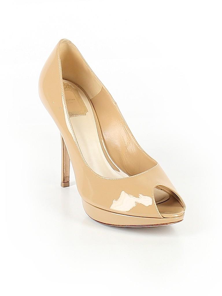 092a89017bb Christian Dior Solid Tan Heels Size 39.5 (EU) - 85% off