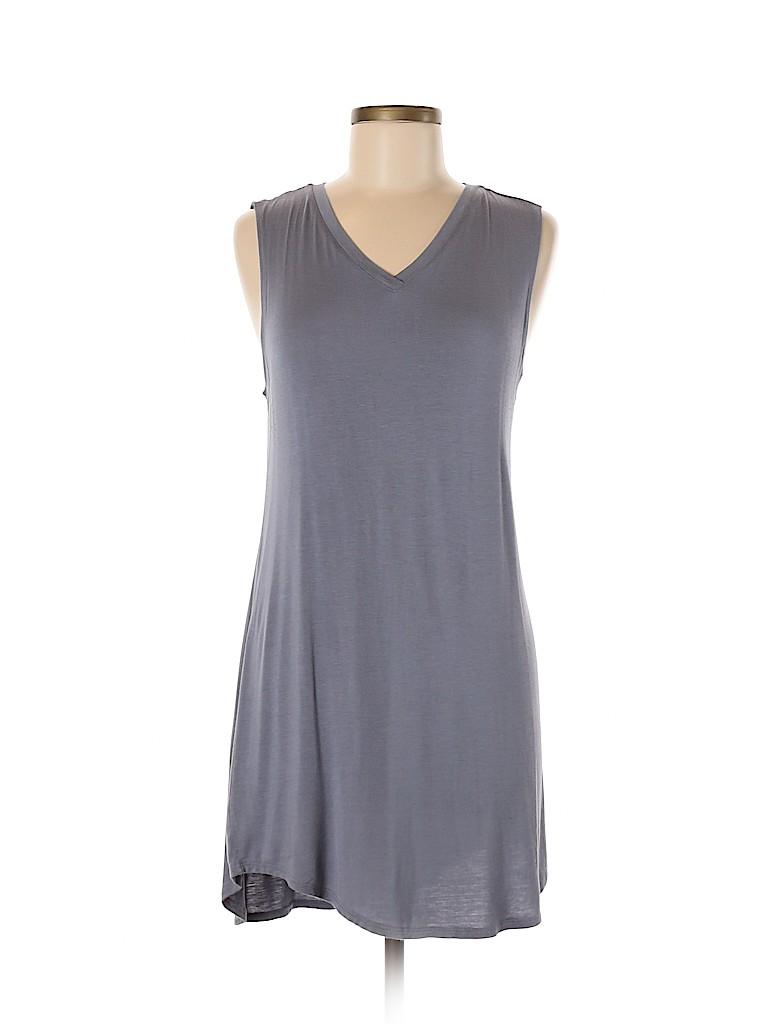 LOGO by Lori Goldstein Women Casual Dress Size M