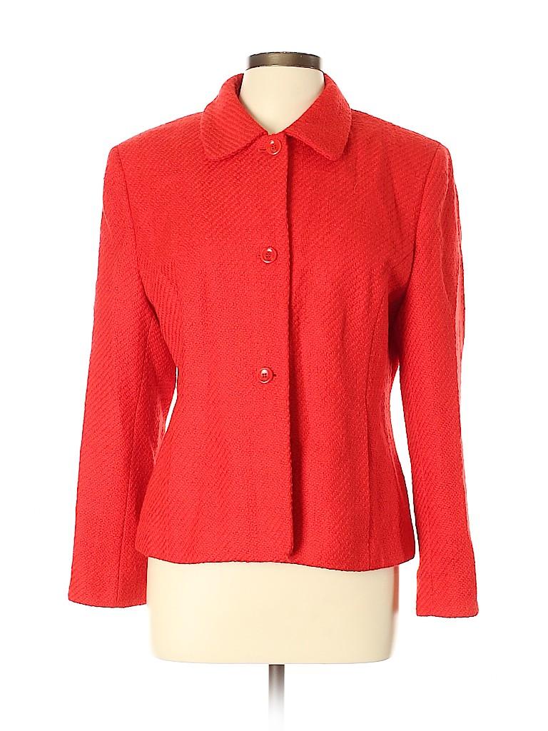Jones New York Women Wool Coat Size 14