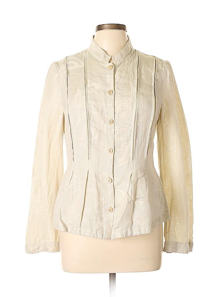 Armani Collezioni Women Long Sleeve Blouse Size 10
