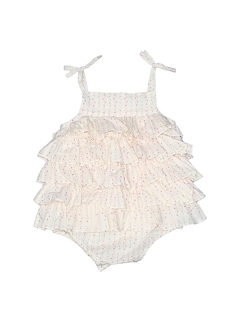 Marie Chantal Girls Short Sleeve Onesie Size 3 mo