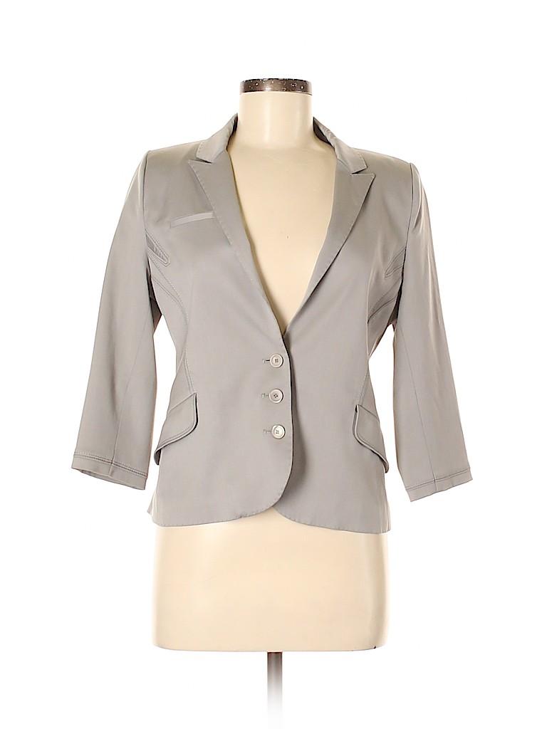 Zac Posen Women Wool Blazer Size 8