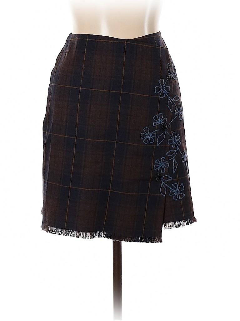 Moschino Cheap And Chic Women Wool Skirt Size 12