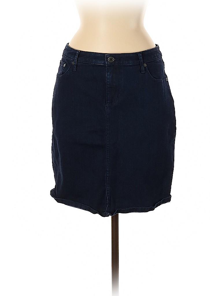 Banana Republic Women Denim Skirt Size 8