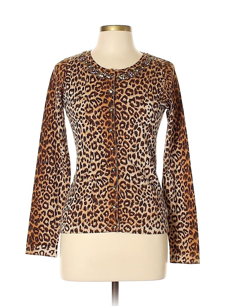 Charlotte Women Silk Cardigan Size M