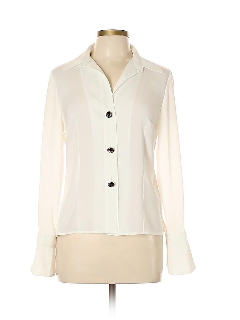 Spense Women Long Sleeve Blouse Size L