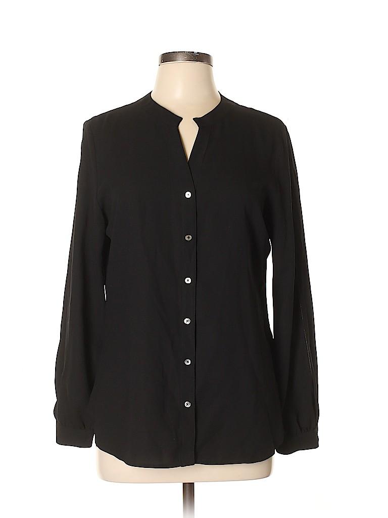 41Hawthorn Women Long Sleeve Blouse Size L