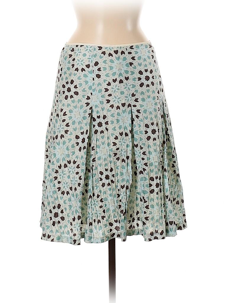 Banana Republic Women Silk Skirt Size 4