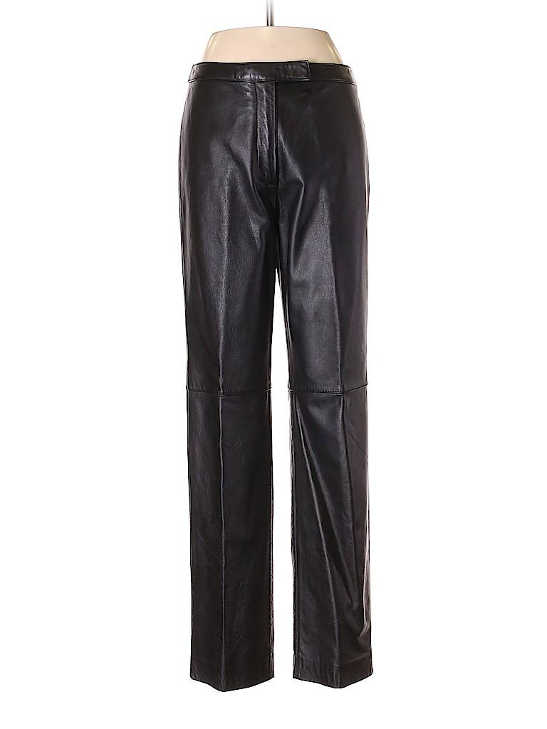 Ann Taylor LOFT Women Leather Pants Size 6