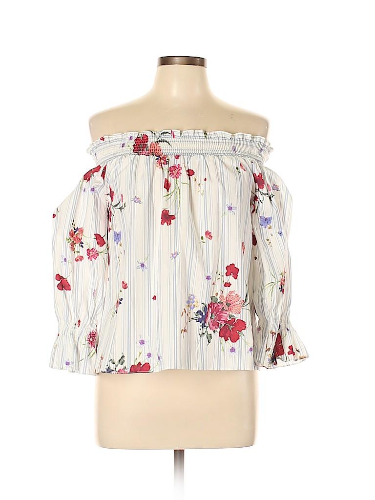 Zara Women 3/4 Sleeve Blouse Size XS