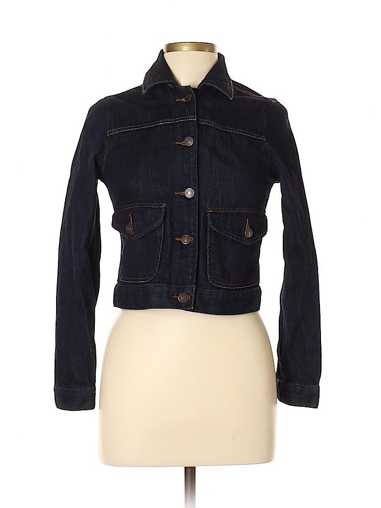 Abercrombie & Fitch Women Denim Jacket Size M