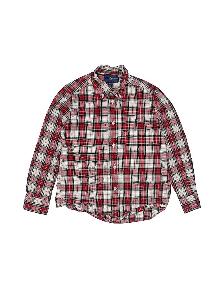 Ralph by Ralph Lauren Boys Long Sleeve Button-Down Shirt Size 6
