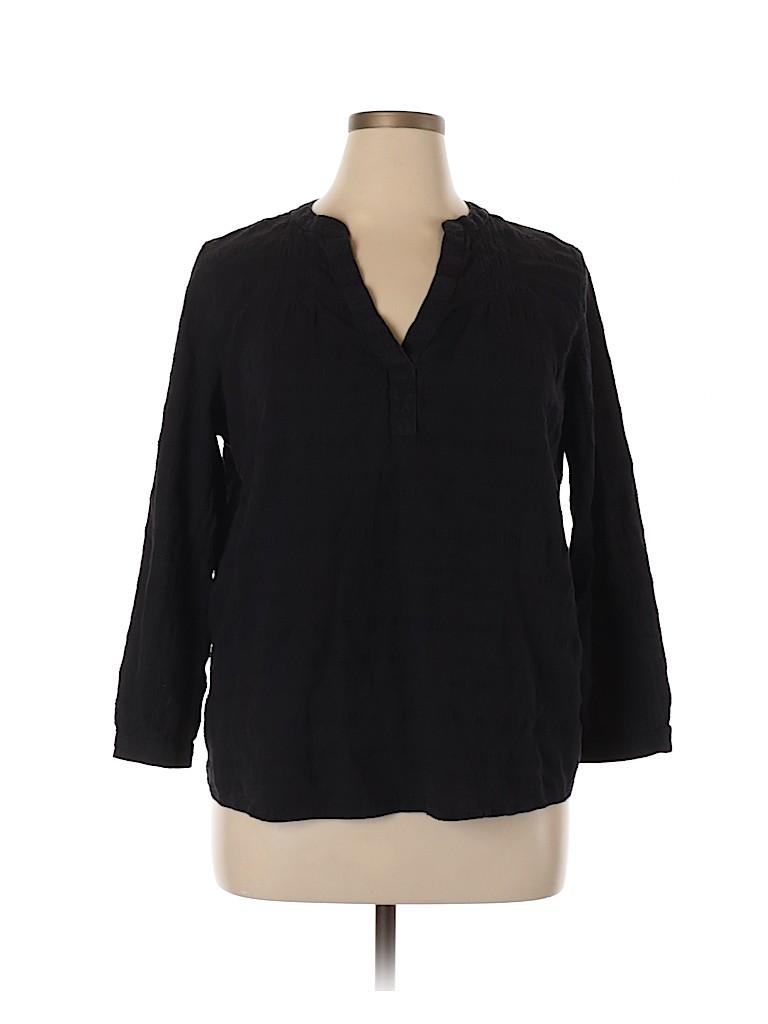 Old Navy Women 3/4 Sleeve Blouse Size XL