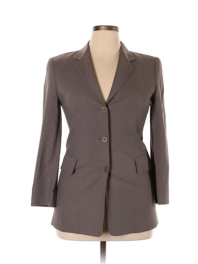 Barneys New York Women Wool Blazer Size 8