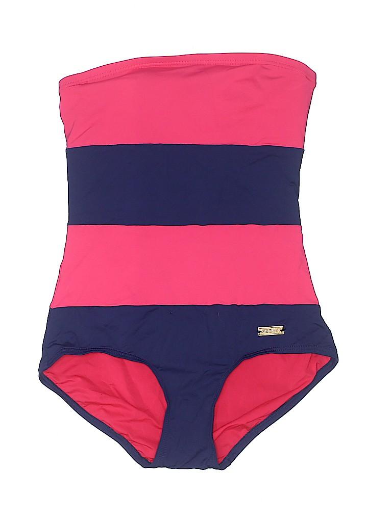 DKNY Women One Piece Swimsuit Size 4