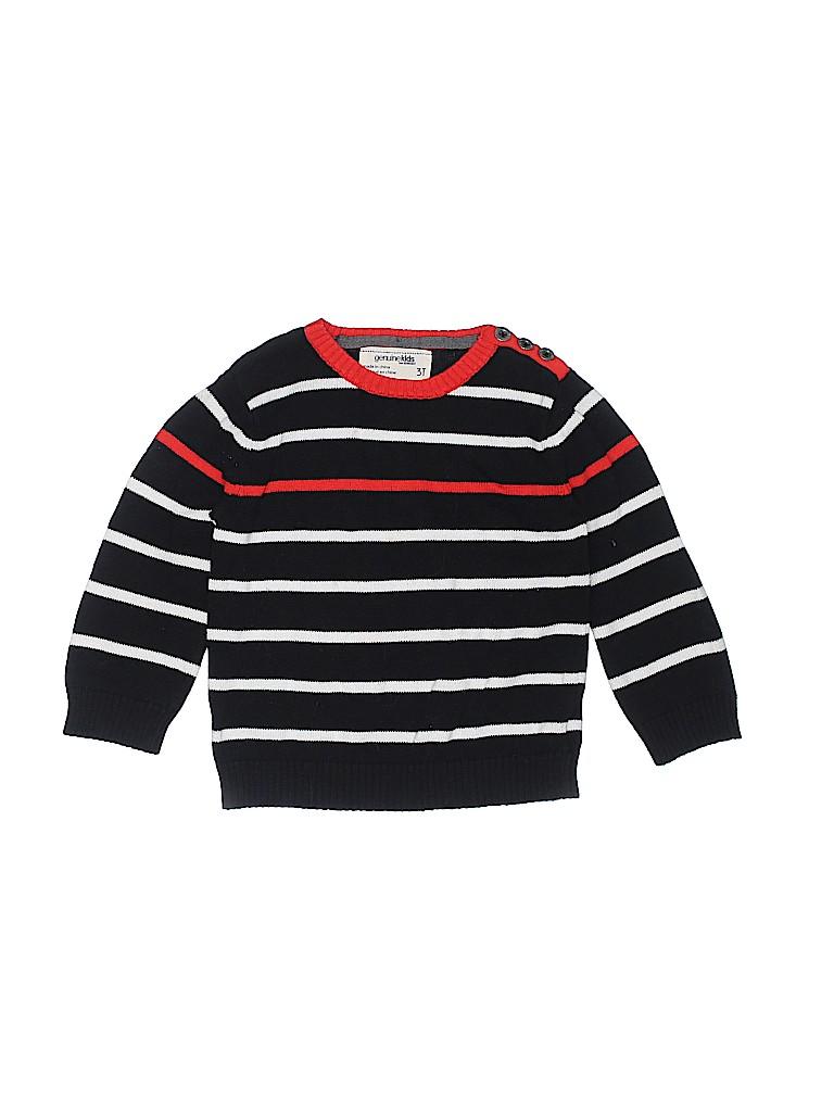 Genuine Kids from Oshkosh Boys Pullover Sweater Size 3T