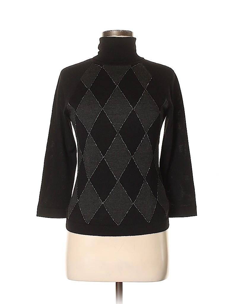 Nine West Women Turtleneck Sweater Size M