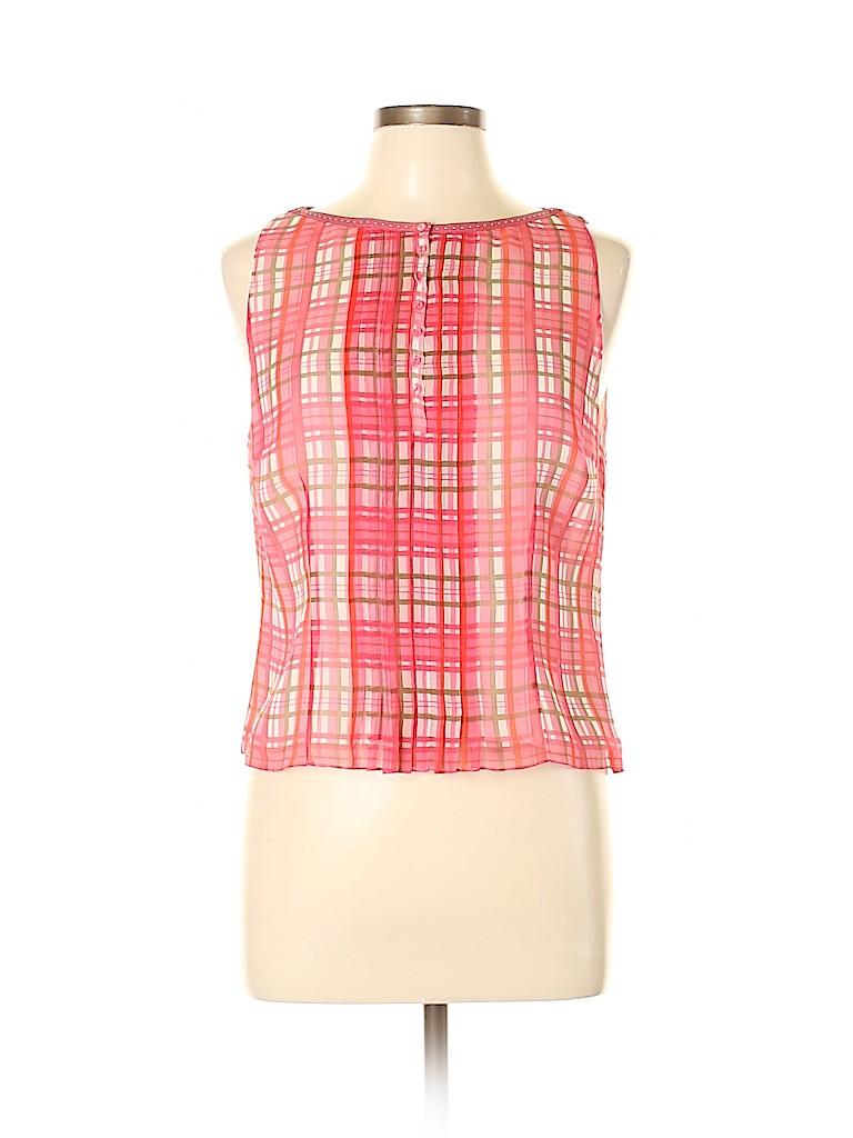 W by Worth Women Sleeveless Silk Top Size 10