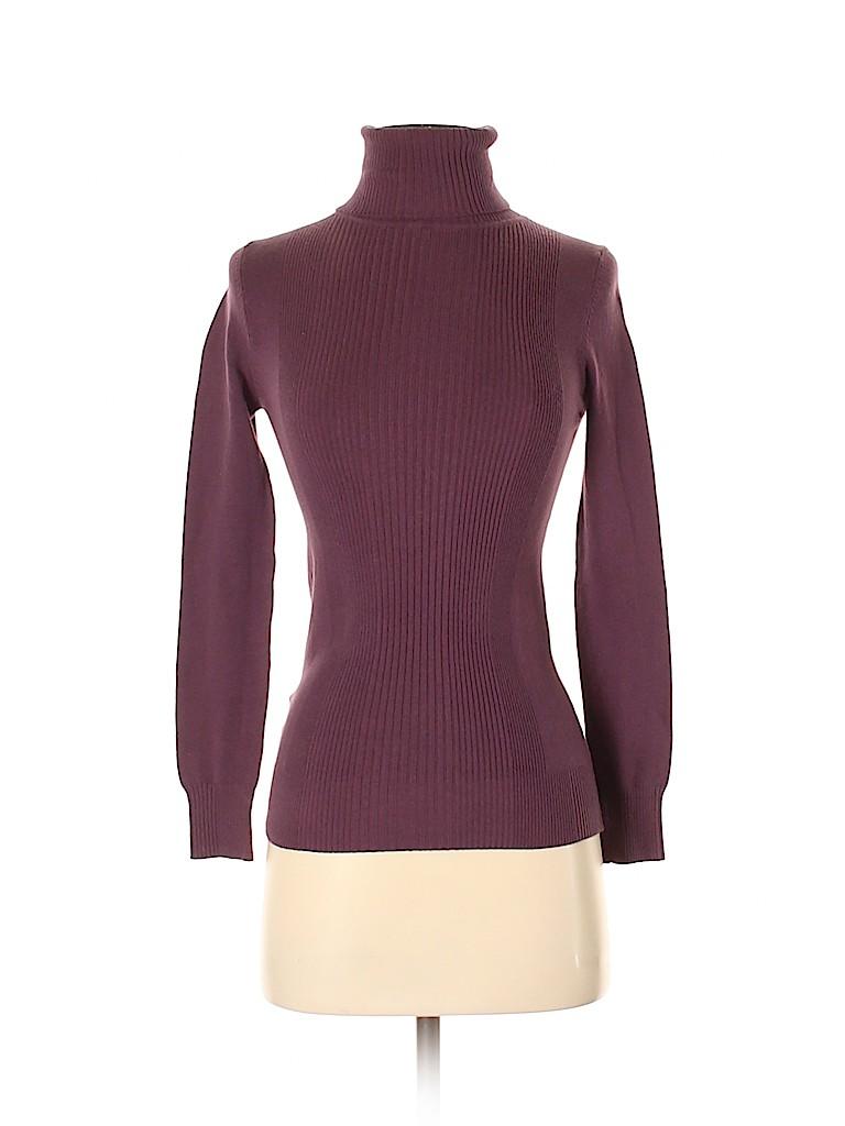 Mango Women Turtleneck Sweater Size XS