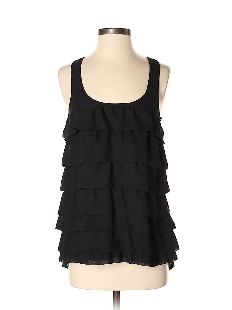 Aqua Women Sleeveless Blouse Size S