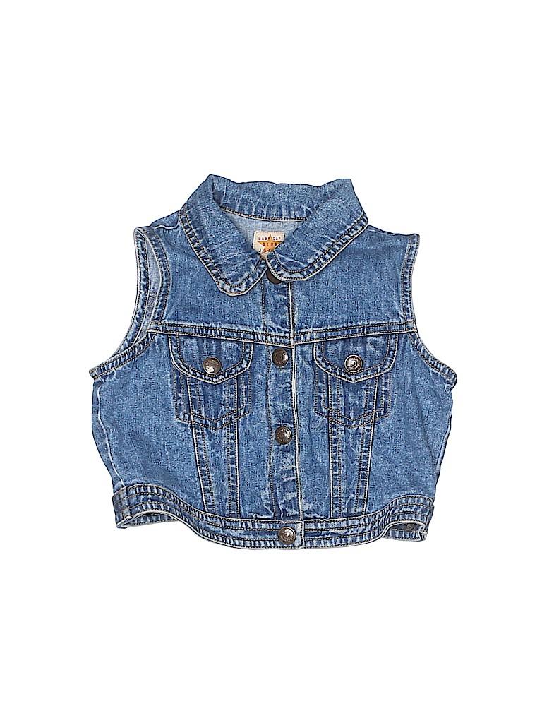 Gap Kids Girls Denim Vest Size 12-24 mo