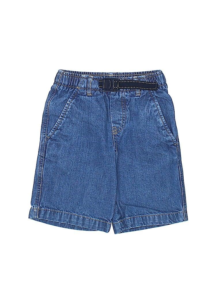 Lands' End Boys Denim Shorts Size 4T