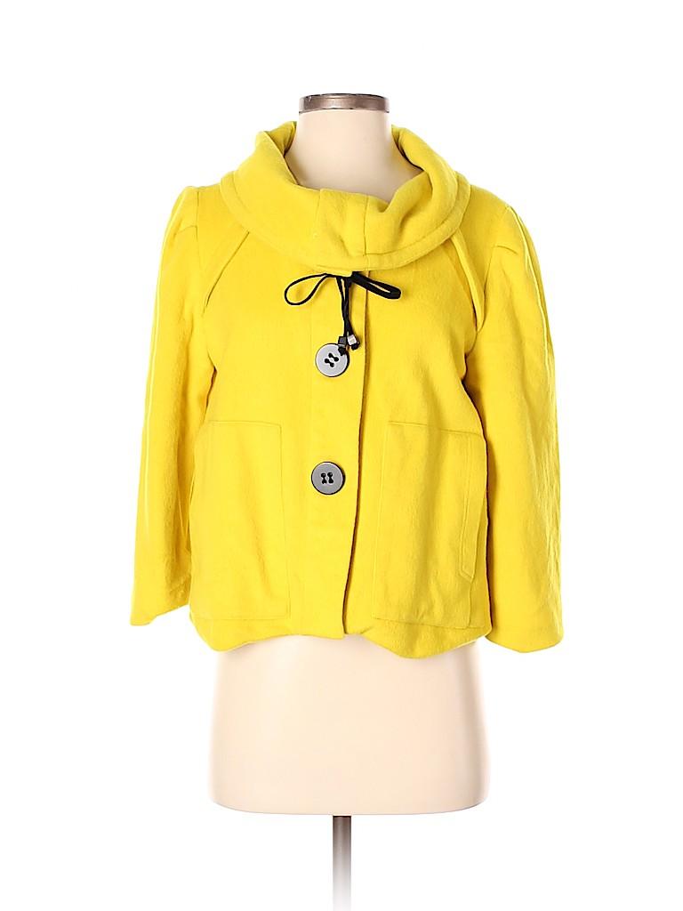 Shin Choi Women Wool Coat Size S