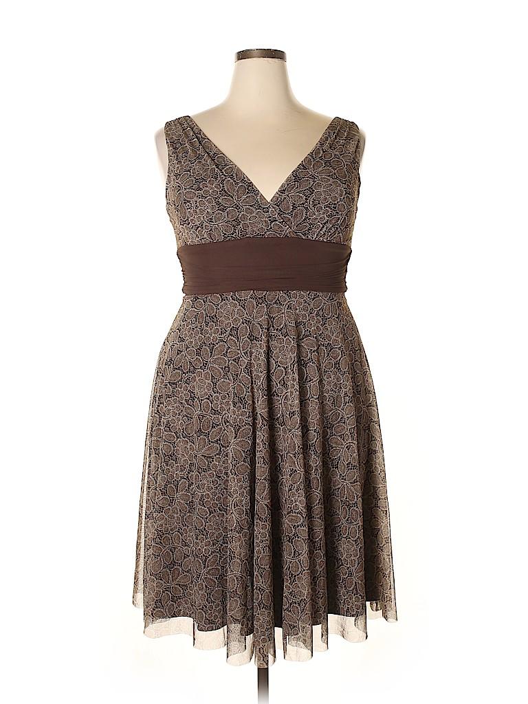 London Times Women Casual Dress Size 14