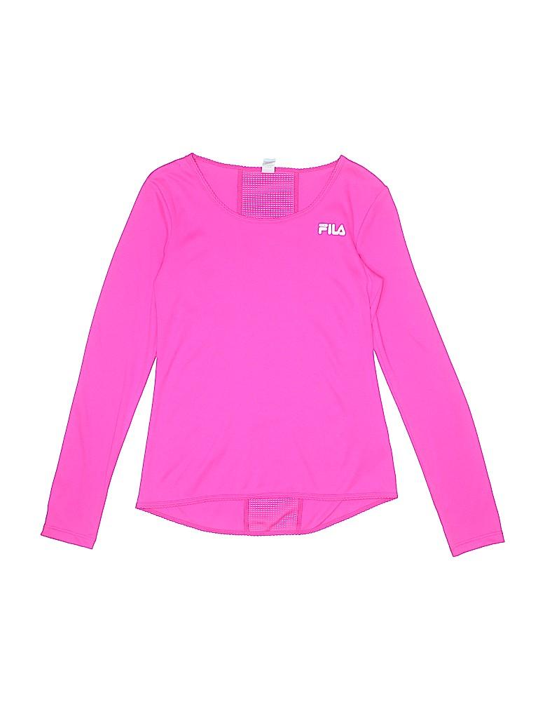 Fila Girls Active T-Shirt Size 10 - 12