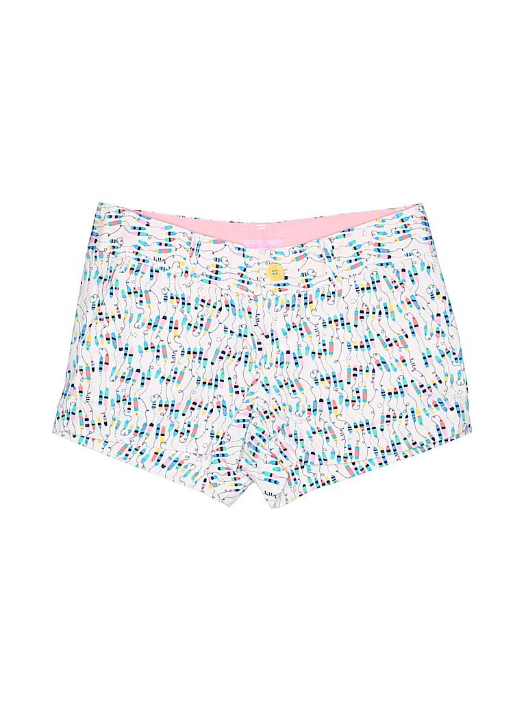 Lilly Pulitzer Women Khaki Shorts Size 00
