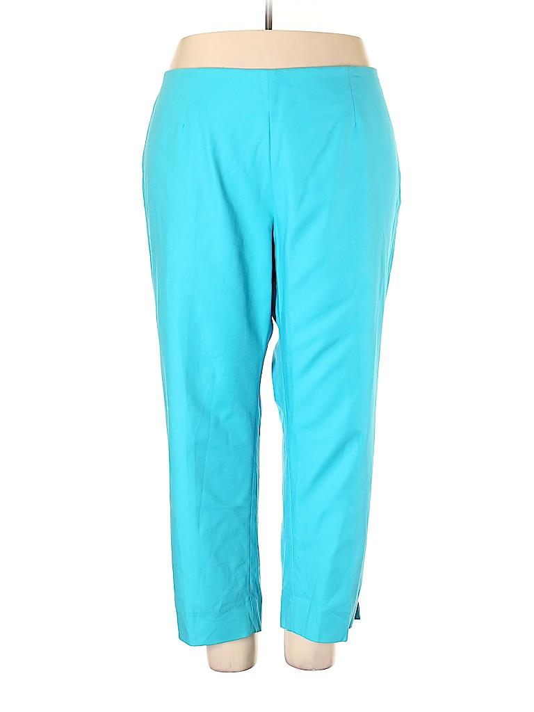 Investments II Women Dress Pants Size 24W (Plus)