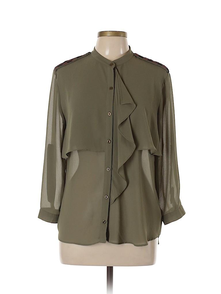 Sugarlips Women 3/4 Sleeve Blouse Size L
