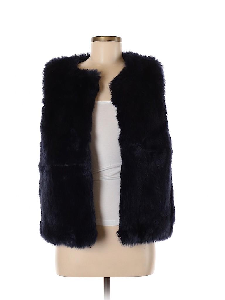 Kersh Women Faux Fur Vest Size M