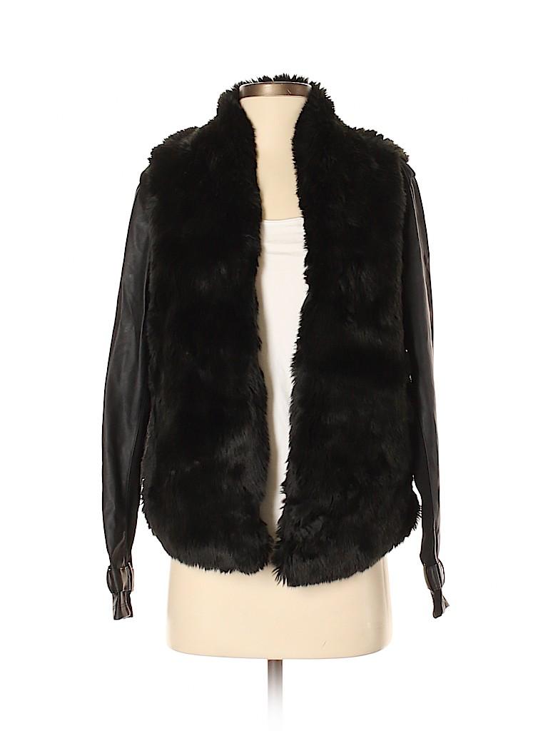 Tart Collections Women Faux Fur Jacket Size S