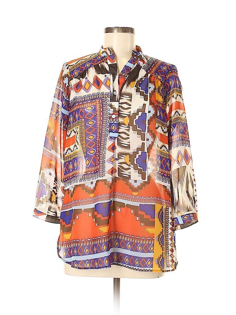 Fab'rik Women 3/4 Sleeve Blouse Size M