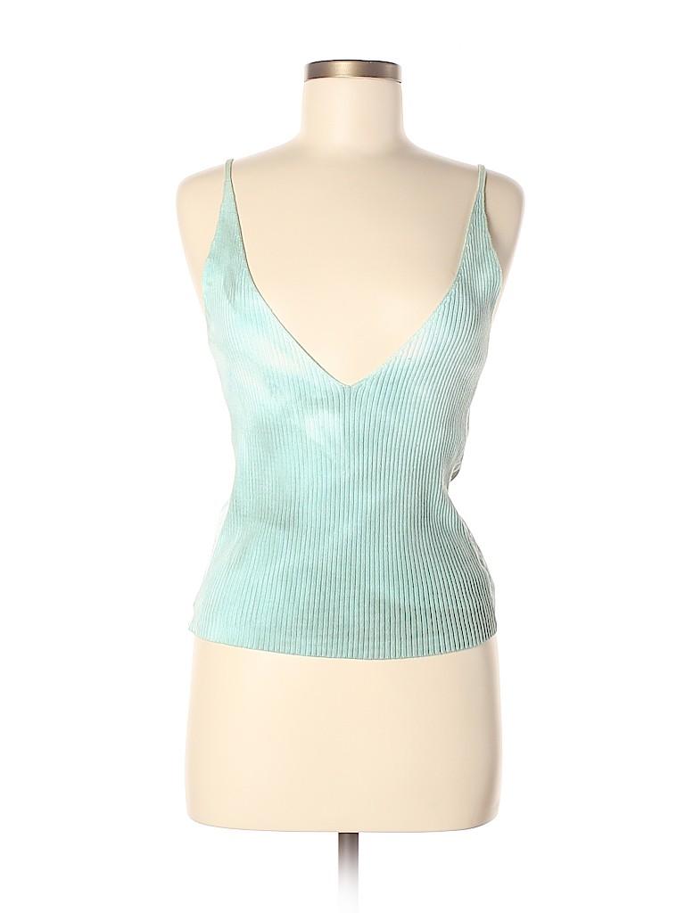 Sisley Women Sleeveless Top Size M