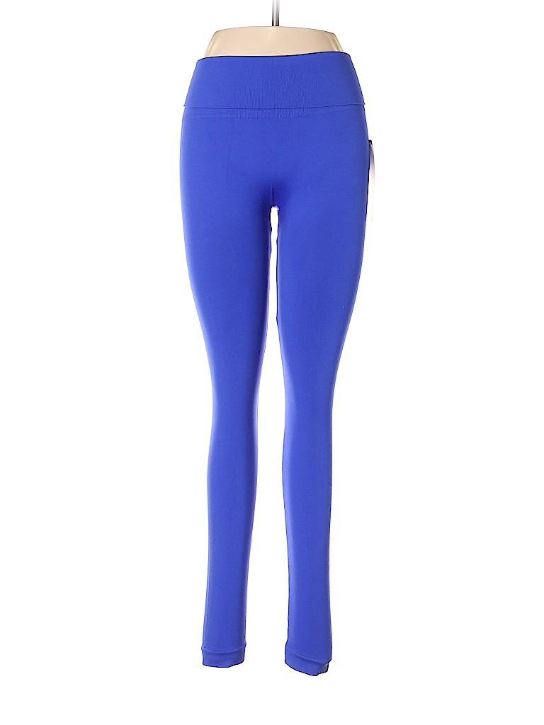 3eadec159bd52 Homma Solid Blue Leggings Size L - 41% off | thredUP