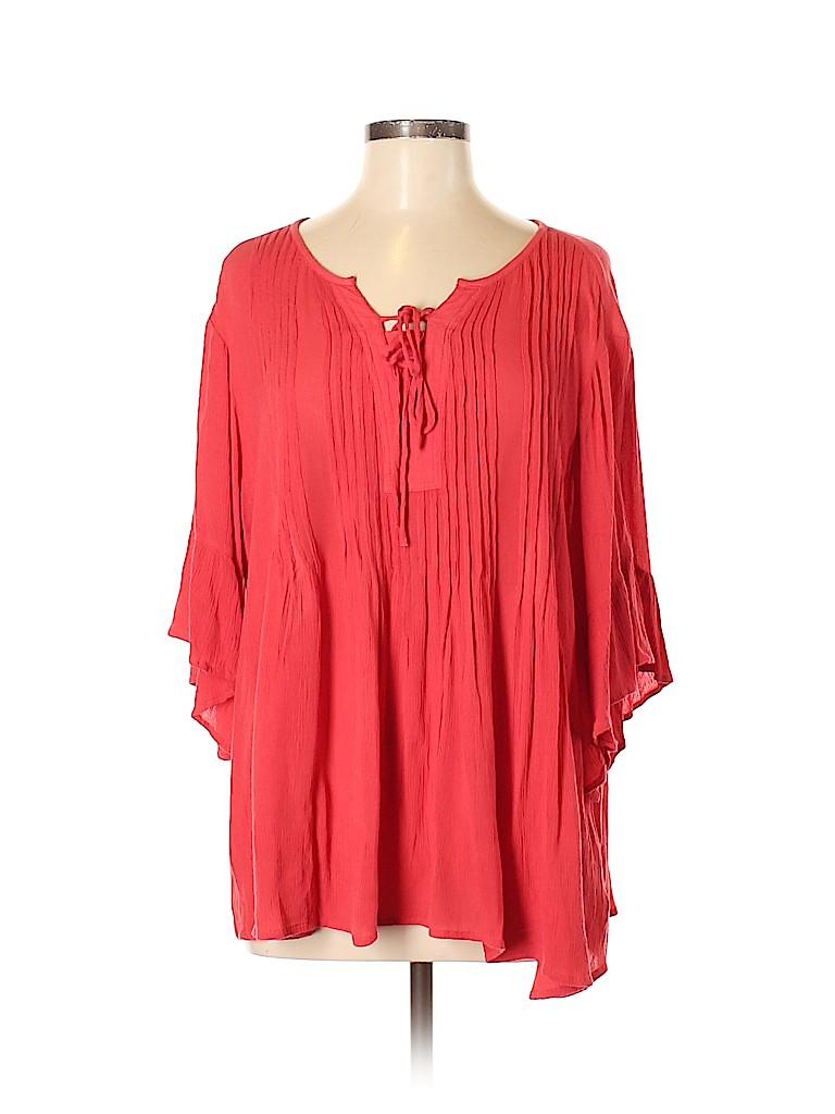 Style&Co Women 3/4 Sleeve Blouse Size M