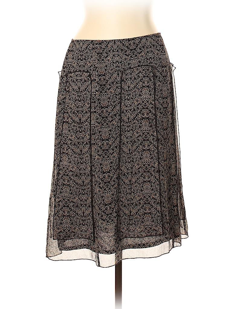 INC International Concepts Women Silk Skirt Size 12