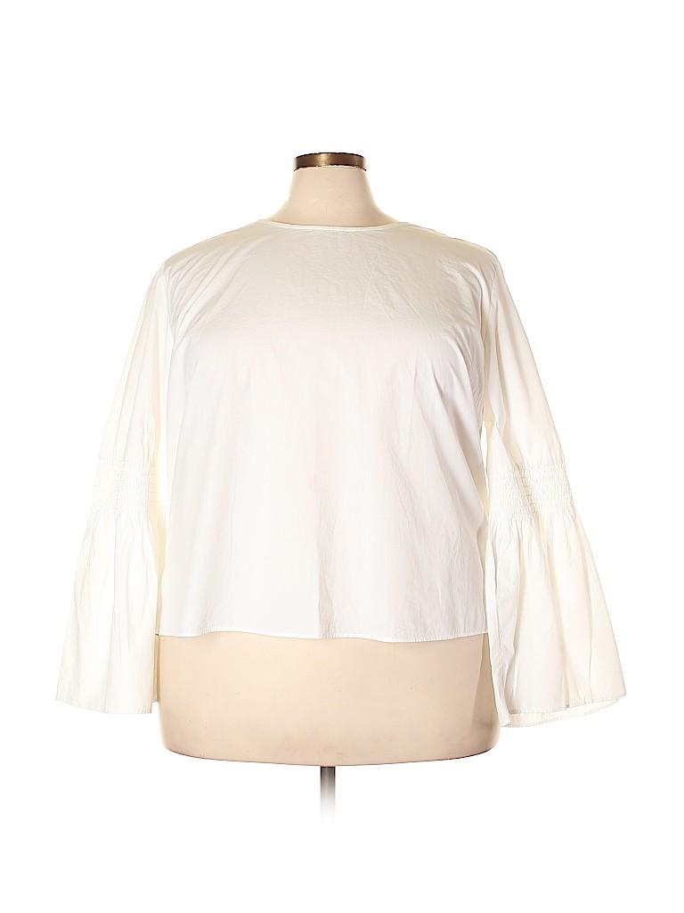Falls Creek Women Long Sleeve Blouse Size 3X (Plus)