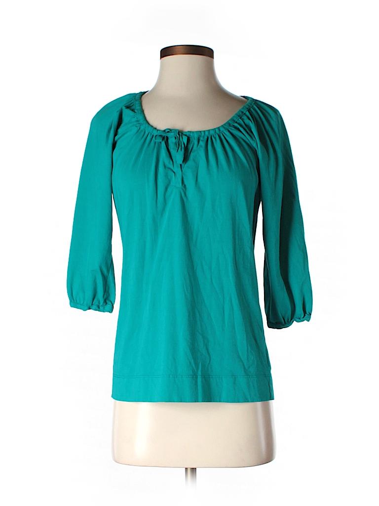 C&C California Women 3/4 Sleeve Top Size XS