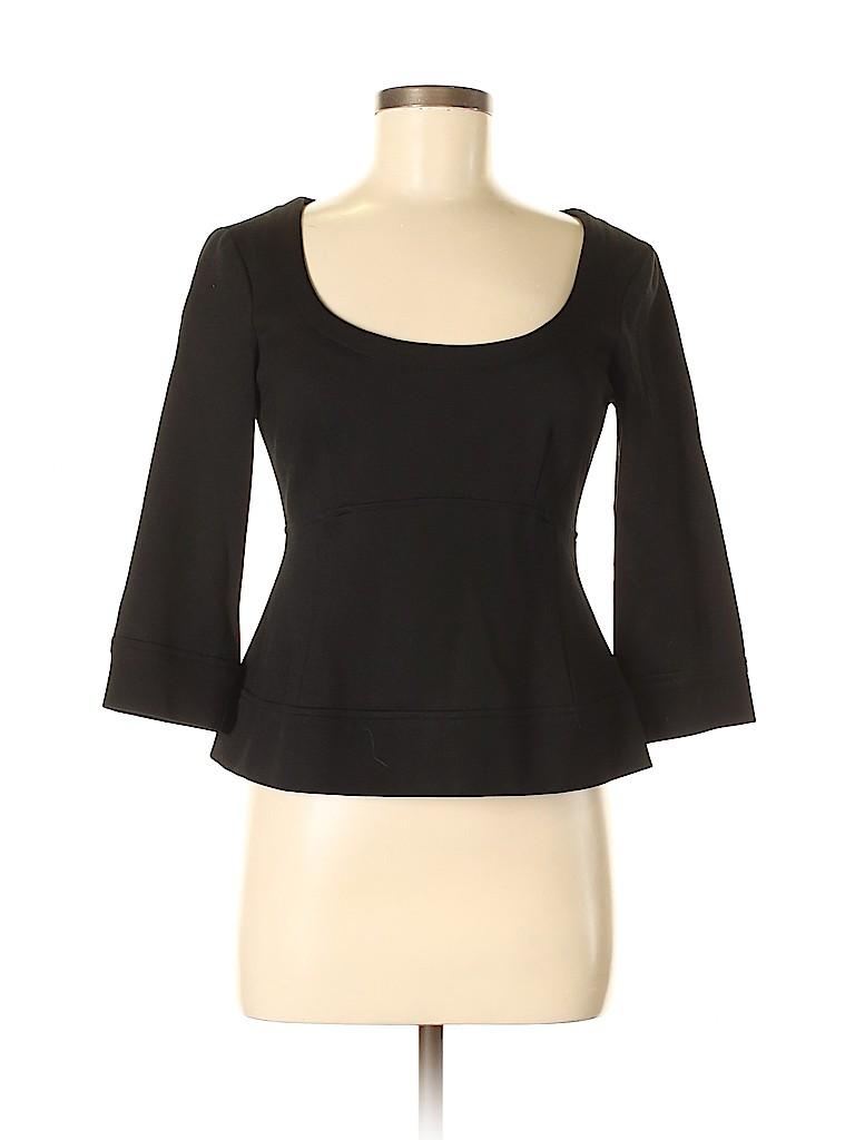 Nanette Lepore Women 3/4 Sleeve Top Size 6