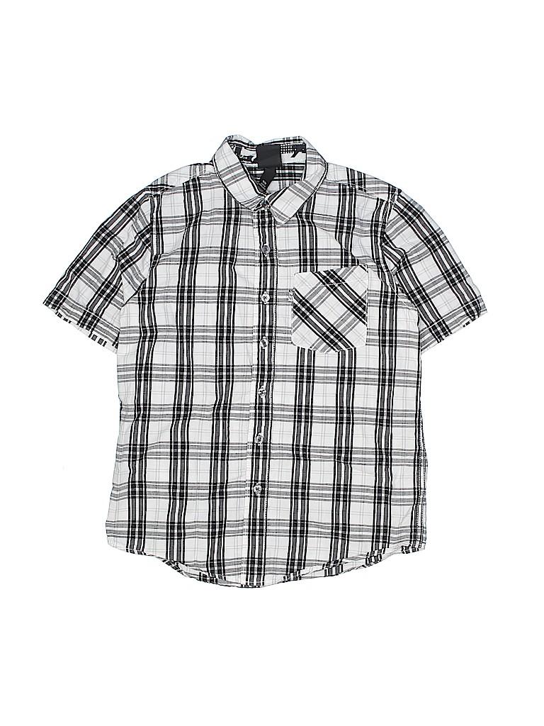 Shaun White Boys Short Sleeve Button-Down Shirt Size M (Kids)
