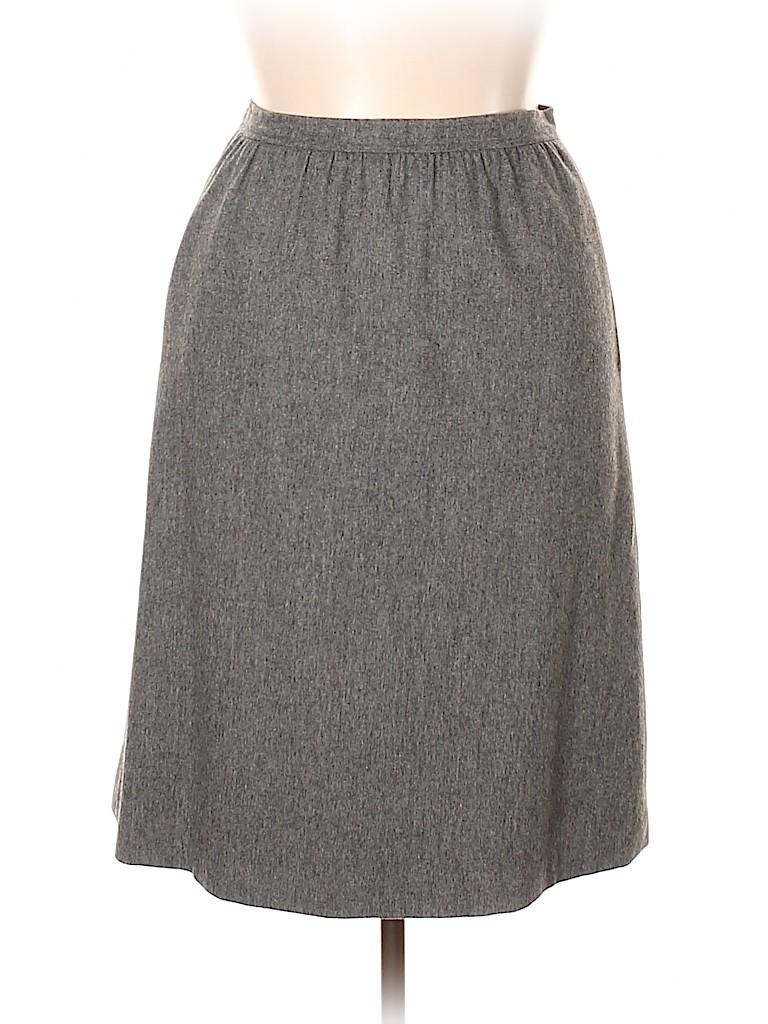 Evan Picone Women Wool Skirt Size 16