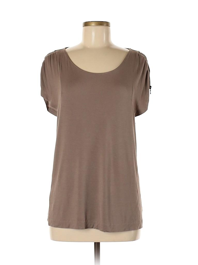 Cynthia Steffe Women Short Sleeve T-Shirt Size M