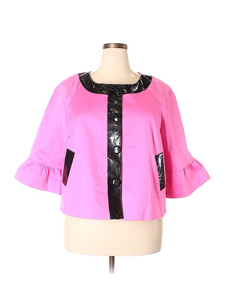 Sandro Sportswear Women Jacket Size 1X (Plus)